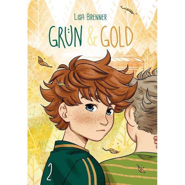 Lisa Brenner: Grün & Gold2
