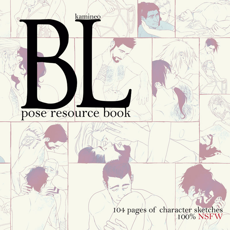 Kamineo: BL pose resource book