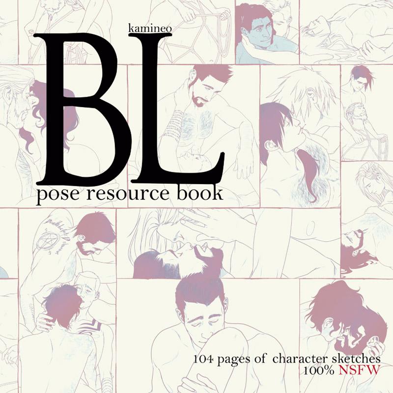Kamineo: BL pose resourcebook
