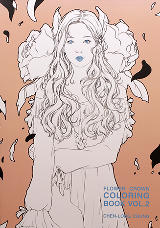 Chen-Long Chung: Flower Crown Coloring Book Vol. 2